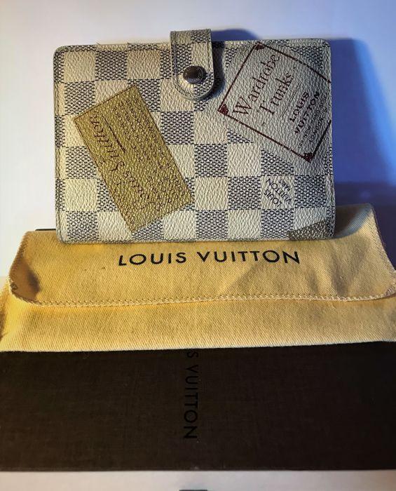 Louis Vuitton - Organize PM Limited Series Blue Checkers