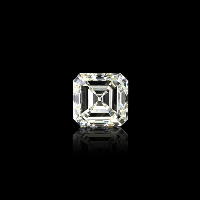 1 pcs Diamond - 1.00 ct - Asscher - I - VS1