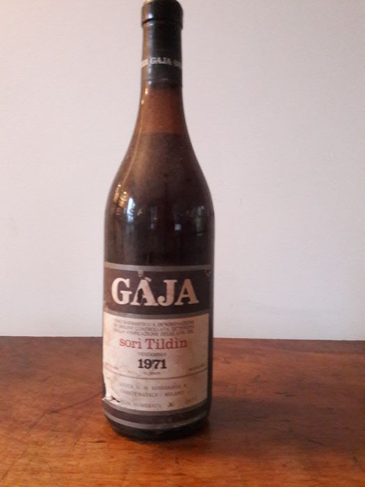1971 Gaja Barbaresco, Sorì Tildìn - 1 bottle(72cl)