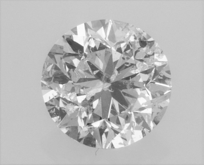 Round Brilliant Cut  - 1.30 carat - D color - SI2 - 3 x EX -  clarity AIG Big Certificate + Laser Inscription On Girdle, UNTREATED.