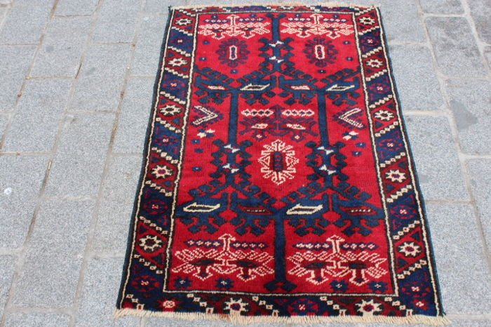 Turkish Rug from Antalya, Turkey, 73 x 110 cm