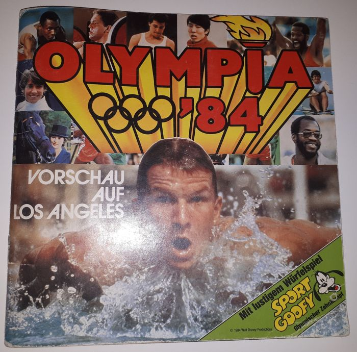 Variant of Panini - Walt Disney Productions / Ferrero Frankfurt - Olympia '84 - Complete album - German issue