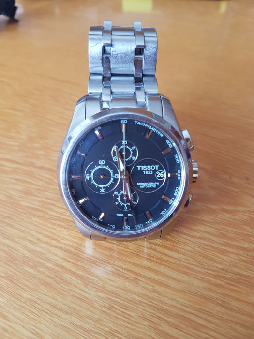 Tissot - Couturier Automatic Chronograph - T035627 A - Heren - 2011-heden