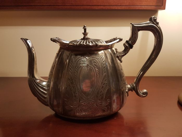 Victorian Silver Plated Teapot - Early 19th century