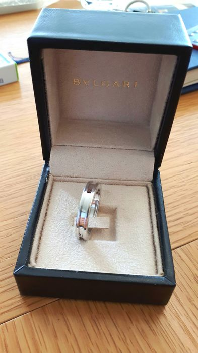 Bulgari - BZero1 Men' Ring 18ct white gold