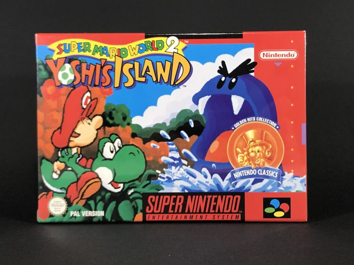 Súper Nintendo Game - Super Mario World 2 Yoshi´s Island - PAL/ESP