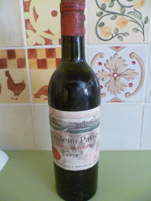 1958 Chateau Pavie, Premier Grand Cru Classé de Saint-Emilion - 1 bottle