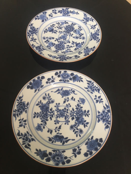 Porcelain dishes - China - early 18th century