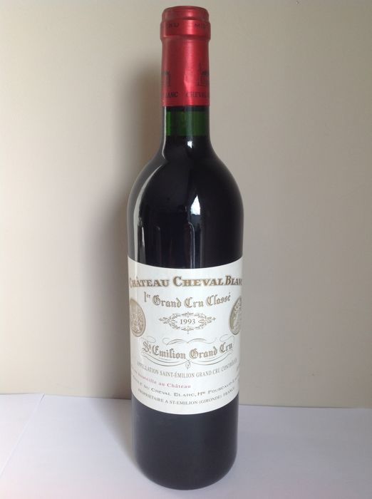 1993 Chateau Cheval Blanc, St. Emilion Grand Cru - 1 bottle (75cl)