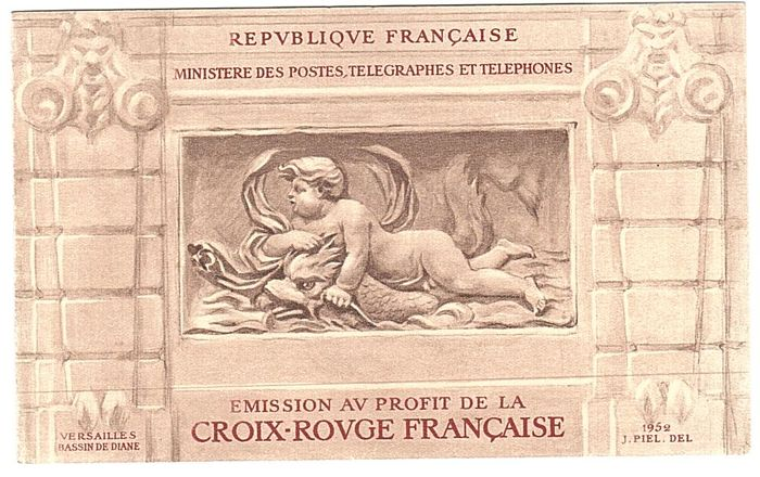 France 1952/1998 - Complete collection of Red Cross booklets