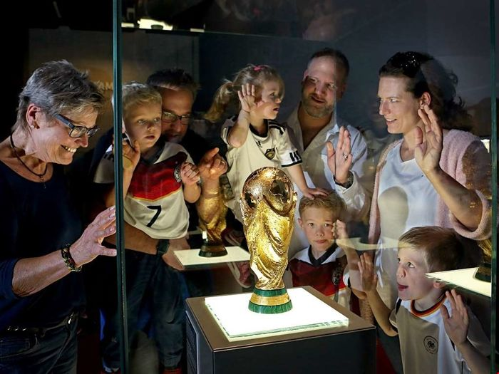 A very special day at the German Football Museum in Dortmund for 5 people!