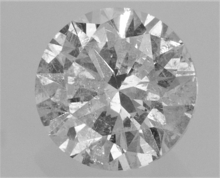 1.03 carat ,  Natural Diamond  , F color , SI1 clarity , Big AIG certificate + Laser Inscription on Girdle , 3 x EX.
