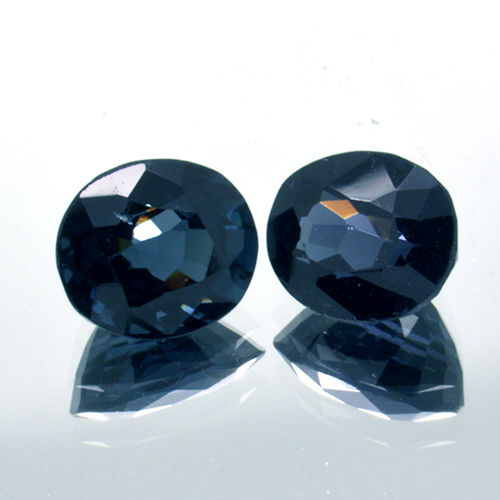 2 Blue Spinel - 2.44 ct.
