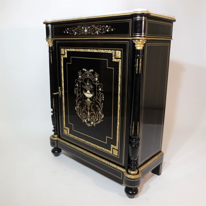 elegant and refined meuble dappui in napoleon iii style france late 1800s
