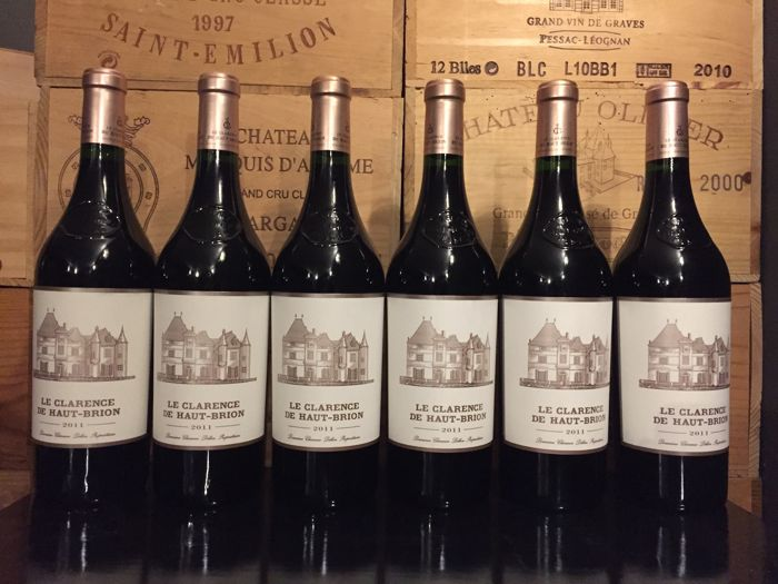 2011 Château Le Clarence Haut-Brion, second wine Haut Brion Premier Grand Cru Classé - 6 bottles