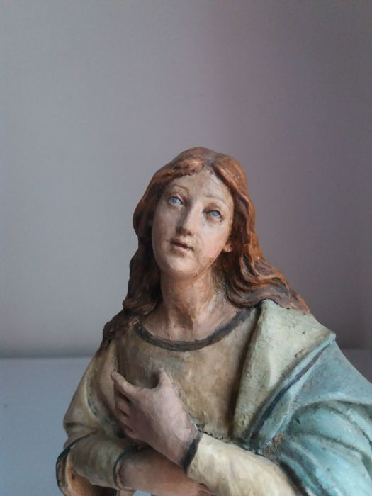 Immaculate Virgin Mary of Lecce papier-mâché