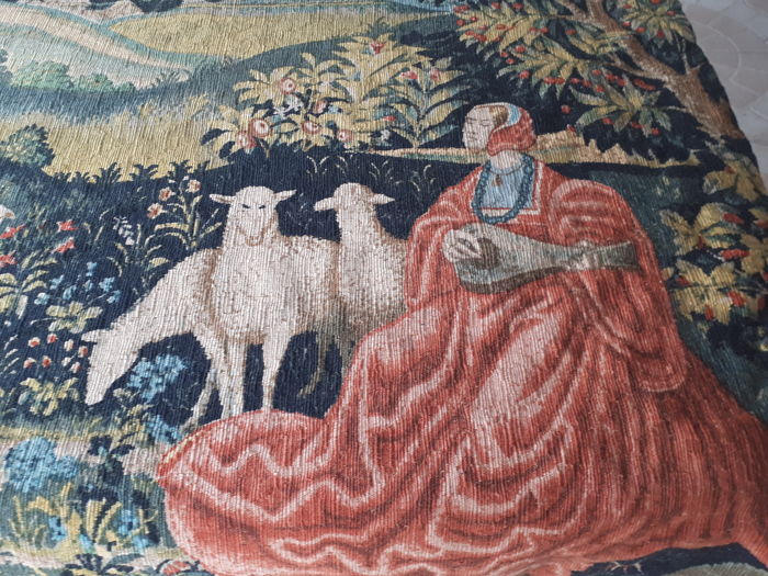Aubusson tapestry Robert Four, France, 20th century