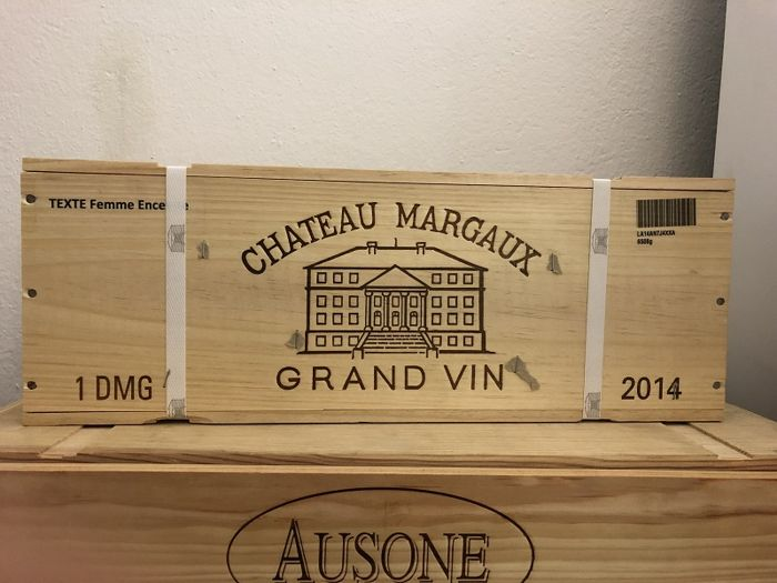 2014 Chateau Margaux, Margaux - 1 double magnum in owc - 95 P.P.