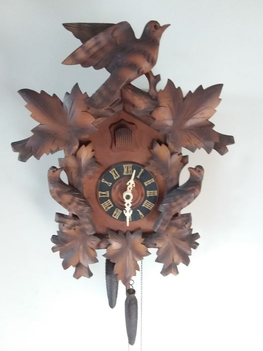 Large cuckoo clock - first half 20th century.