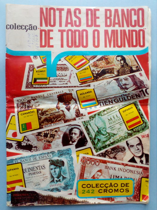 Variant Panini - Complete and original sticker album - Banknotes from all over the world