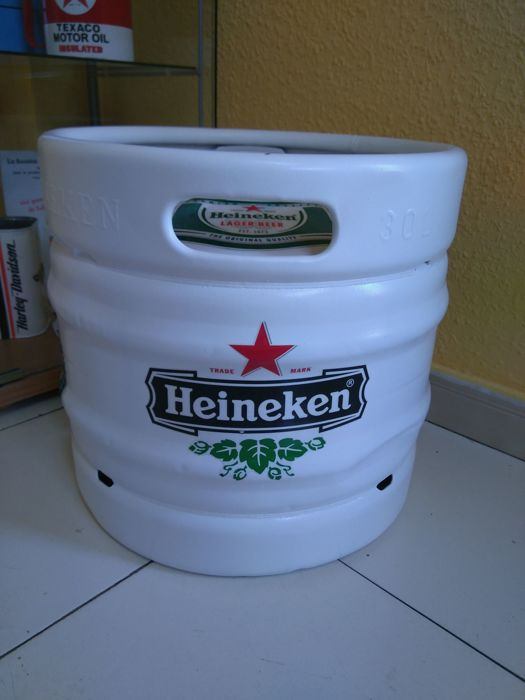 Rare 30-litre barrel of HEINEKEN BEER