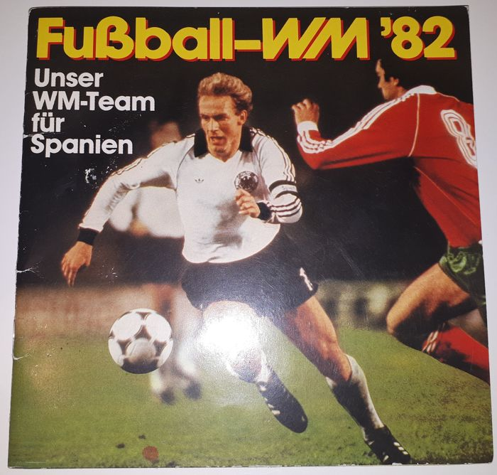 Variant of Panini - Ferrero Frankfurt - Fussball-WM '82 Unser WM-team für Spanien - Complete album - West-German issue