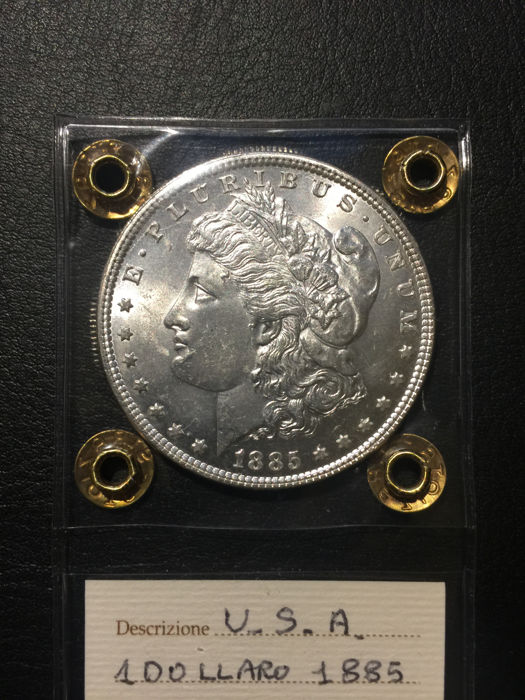 USA - Morgan Dollar 1885 (silver)