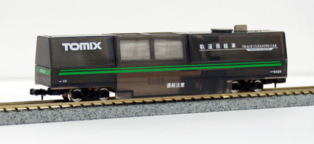 Tomix N - 6426 - Wagon - Electrical Track Cleaning Car