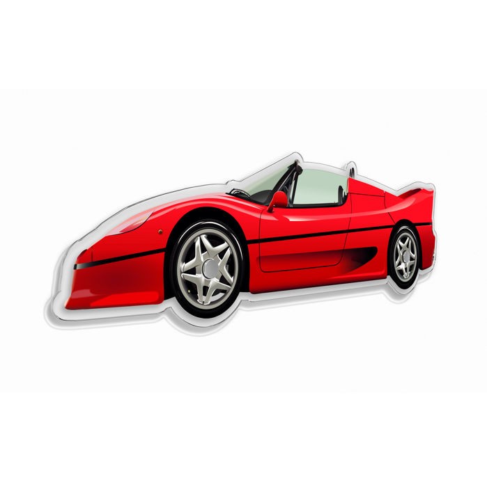 SL - Wall Scale Model Halmo Collection Ferrari F50
