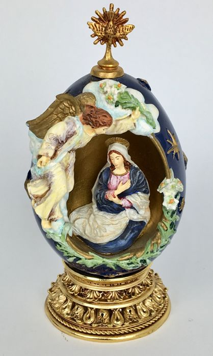 Egg by House of Fabergé - Limited Edition - The Annunciation