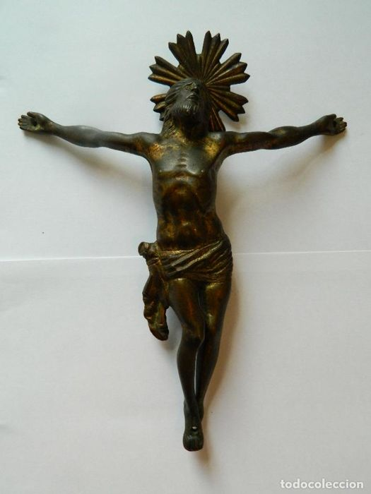 Expiring Christ in bronze - Spain - late 16th century