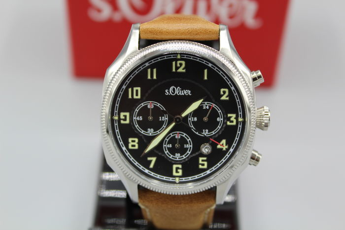 reputable site 17a87 54b29 S.Oliver - Chronograph - 3180N - Men - 2011-present - Catawiki