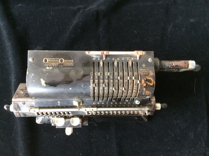 Calculator - brand Original - Odhner - Gothenburg, Sweden