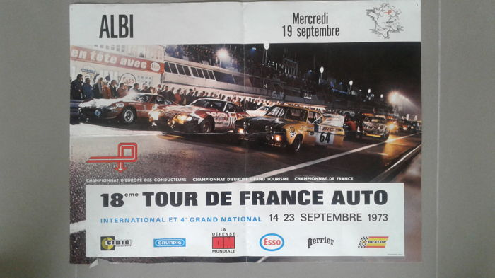18 eme Tour de France Auto ALBI