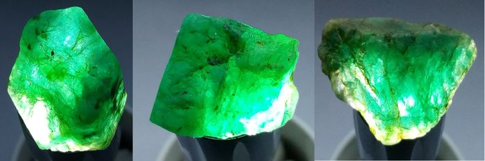 Precious Colombia emerald natural, untreated - 144,00 ct - 28,80 g