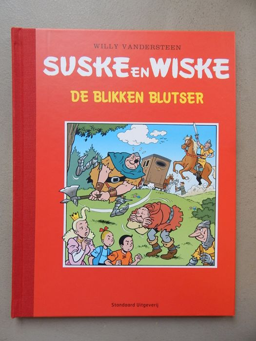 Suske en Wiske - De Blikken Blutser - Author's proof - luxury hardcover with linen spine - 1st edition (2016)