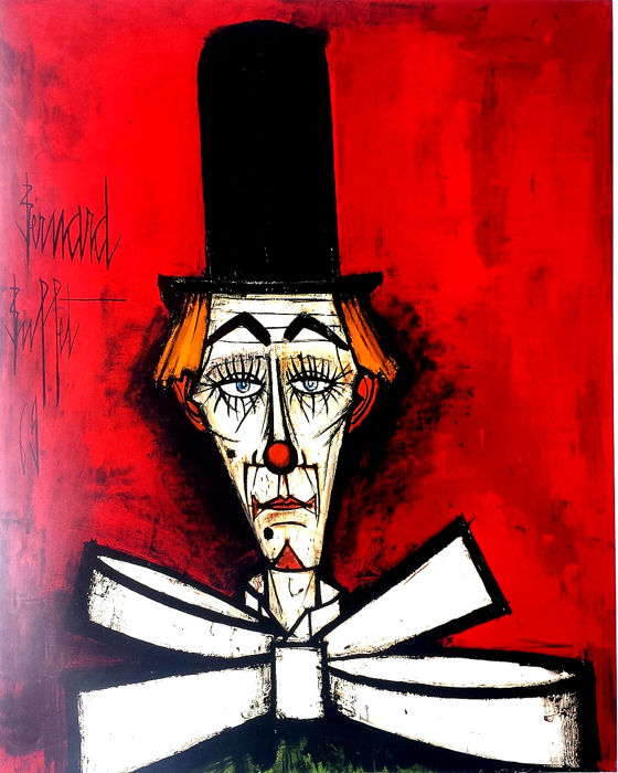 Terrific Bernard Buffet 3 Litographic Prints Mourlot Galerie M Interior Design Ideas Apansoteloinfo