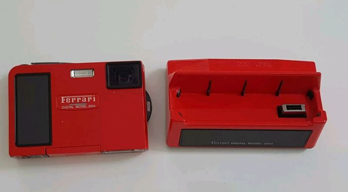 Ferrari - In Collaboration with Olympus - Digital Camera Limited Edition - 2004 Official Product