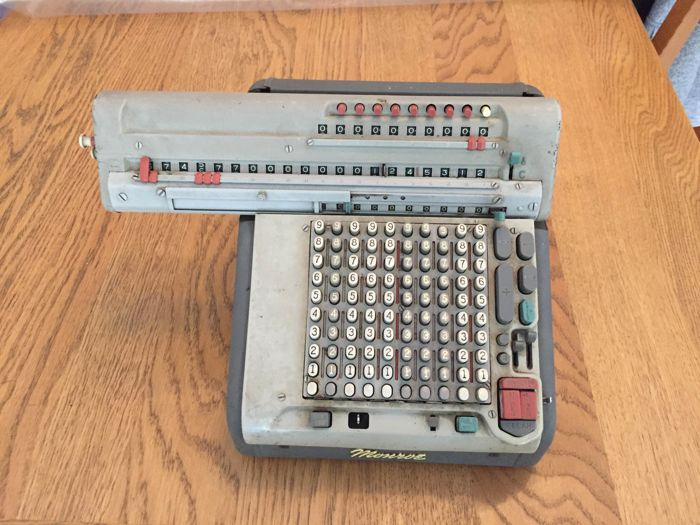 Monroe Matic CSA 10 Calculating Machine From 1966