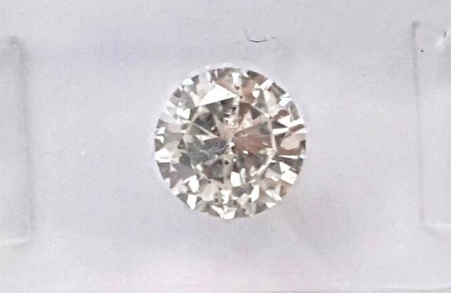 Certified, 1.26 CT. Color G , SI 1, natural Brilliant cut Diamond, IGI report number 224629066