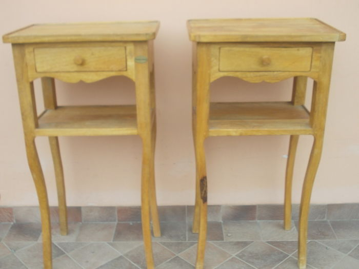 Pair of twin nightstands - 1960/1970 - France