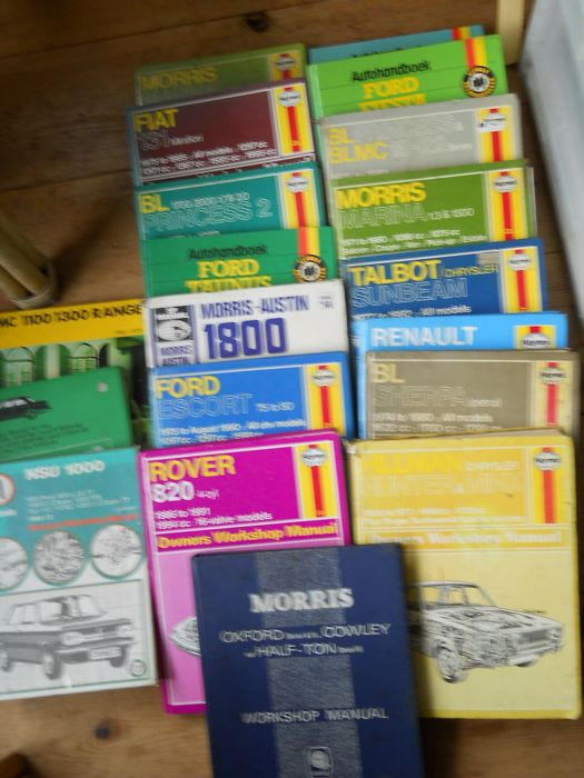 Haynes and other automobile manuals