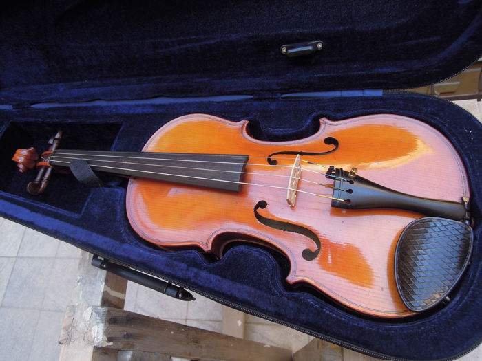 Jerome Thibouville Lamy 4/4 violin Mansuy Mirecourt model early 1900s
