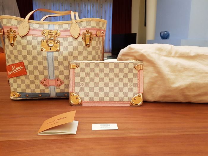 2c6208214 Louis Vuitton - Neverfull Summer 2018 Limited Edition Saco de compras