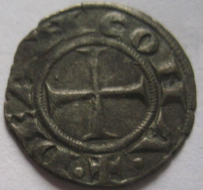 Ancona, Autonomous currency, 12th century, Denarius - silver
