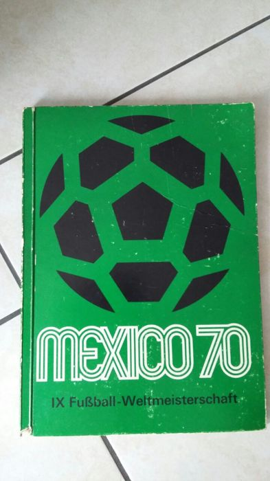 Variant Panini - IX. FIFA World Cup Mexico 70 - complete scrapbook.