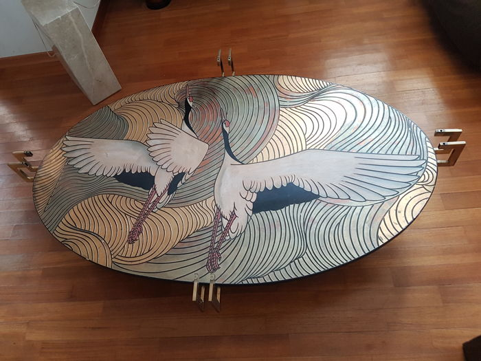 Unknown designer - Finely decorated coffee table