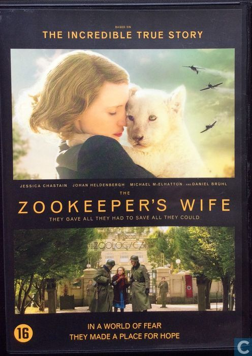 Image result for zookeeper's wife dvd