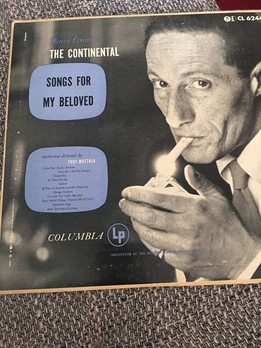 Songs for My Beloved - Renzo Cesana as The Continental [1953]