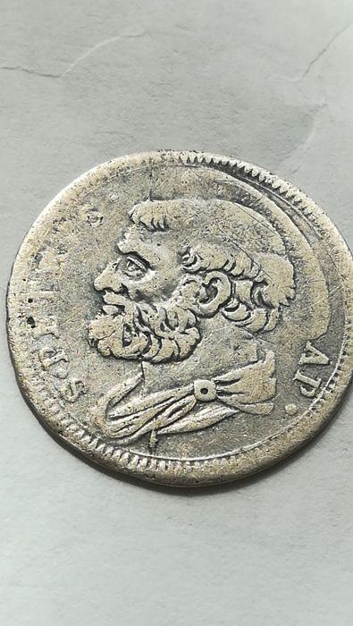 Papal States – Grosso, Clemente XII (1730-40) – Silver